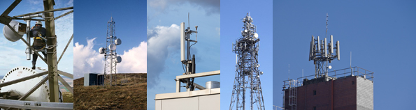 mobile phone masts installations